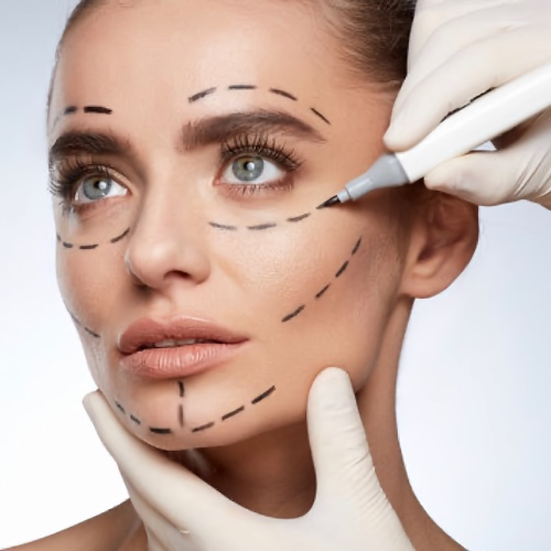 woman tailored cosmetic procedures